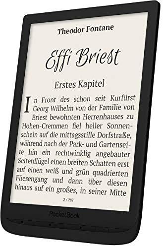 PocketBook e-Book Reader 'InkPad 3' (8 GB Speicher; 19,8 cm (7,8 Zoll) E-Ink Carta Display; SMARTlight; Wi-Fi) in Black