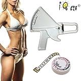 Slimguide Profi Bundle: Körperfett-Zange + BMI Maßband + Handbuch