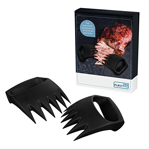 Meat Claws 2.0 - BBQ-Gabeln der neuesten Generation - Ideal für Pulled Pork - Fleischgabeln im Bärenkrallen-Look – Fleisch-Krallen
