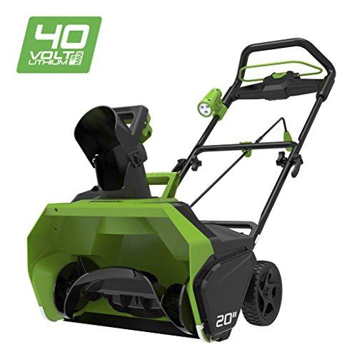 Greenworks 40V Akku-Schneefräse (ohne Akku und Ladegerät) - 2600007