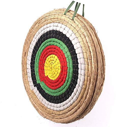 Outdoor-shooter Bogen-Bogenschie?en-Ziel 50x50 cm Traditionelles handgemachtes festes Stroh rundes Ziel f¨¹r im Freienpraxis Bogenschie?en-Bogen und Schie?enpfeil