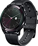 Huawei Watch GT Elegant Smartwatch (42 mm Amoled Touchscreen, GPS, Fitness Tracker, Herzfrequenzmessung, 5 ATM wasserdicht)