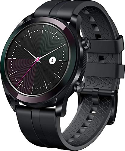 Huawei Watch GT Elegant Smartwatch (42 mm Amoled Touchscreen, GPS, Fitness Tracker, Herzfrequenzmessung, 5 ATM wasserdicht)