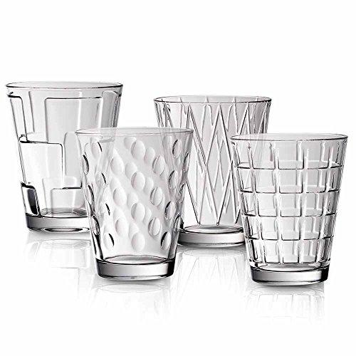 Villeroy & Boch Dressed Up Wassergläser, 4er-Set, 310 ml, Kristallglas, Klar