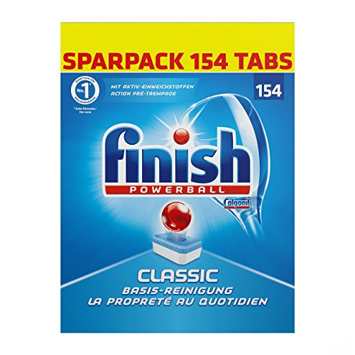 Finish Classic, Spülmaschinentabs, Sparpack, 154 Tabs