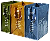 Perfekte Tasche Recycling Container 3Fächern