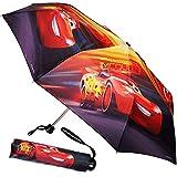 Unbekannt Taschenschirm / Kinderschirm -  Disney Cars / Lightning McQueen - Auto  - ø 92 cm - großer Regenschirm / Erwachsenenschirm - für Jungen / Mädchen / Frauen /..