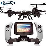 s-idee 01608 Quadrocopter Udi U842-1 FPV 5.8 GHz Übertragung HD KAMERA U842 4.5 Kanal 2.4 Ghz Drohne mit Gyroscope Technik DROHNE MIT WIFI FPV Drone HD Kamera