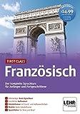 First Class Französisch. Paket: 4 CD-ROMs + Audio-CD: Der komplette Sprachkurs für Anfänger und Fortgeschrittene