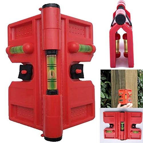 Fortspang Wasserwaage, Winkelpfosten, 188 mm x 134 mm, Holzbearbeitungs-Wasserwaage