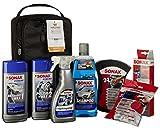 Sonax 761541 Autopflege Set mit Tasche, 7 Teile