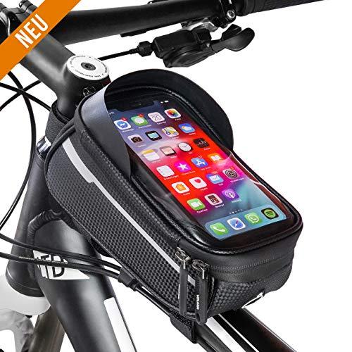 Handyhalterung Fahrrad Wasserdicht - Fahrradhalterung Handy - Fahrrad Zubehör - Fahrrad Handytasche - Smartphone Fahrradhalterung - Handyhalter fürs Fahrrad - Fahrradtasche Handy - MTB Handyhalterung
