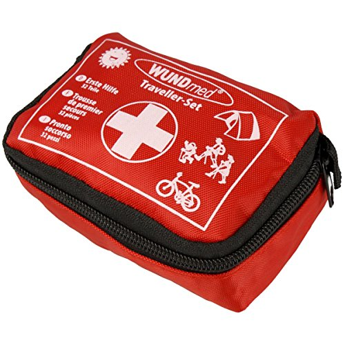 Wundmed Erste Hilfe Set 32-teilig in praktische Etui mit Gürtelschlaufe