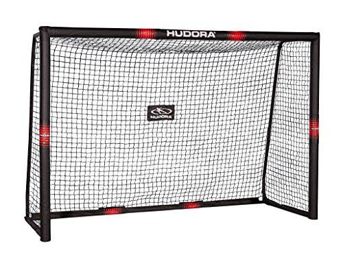 HUDORA Fußballtor Tor Pro Tect, Fußball Tor für Kinder und Erwachsene, 240 x 160 cm, 76914