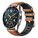 HUAWEI Watch GT Smartwatch, 1,39' AMOLED Touchscreen GPS Fitness Tracker Herzfrequenzmessung,5 ATM wasserdicht - braun