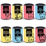 Just Spices 8er Allrounder Gewürzbox | Gewürz Set in schöner Holz Box | 8 verschiedene Gewürzmischungen zum Verschenken | Geschenkset für Frauen und Männer