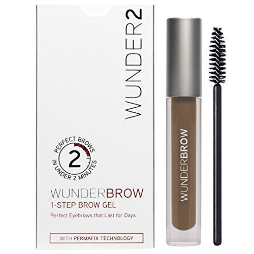 WUNDER2 Wunderbrow Perfekte Augenbrauen in weniger als 2 Minuten, Brunette