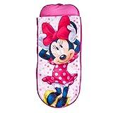 Minnie Mouse 406MTM Junior-ReadyBed - Kinder-Schlafsack und Luftbett in einem in einem, Holz, Rosa, 150 x 62 x 20 cm