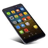 Oasics Smartphone, THL T9 Pro 4G Smartphone 5,5 Zoll MTK6737 Android 6.0 Quad Core 2 GB RAM + 16 GB ROM Fingerabdruck-Scanner für Mobiltelefon 3000mAh (Silber)