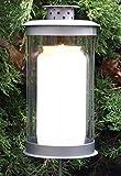 Grablaterne auf Stecker mit ca. 105 Stunden Grablicht Öllicht. Höhe 19cm
