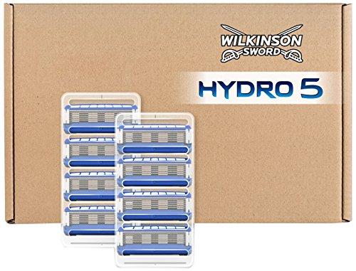 Wilkinson Sword Hydro 5 Rasierklingen, 8 Stück, briefkastenfähige Verpackung