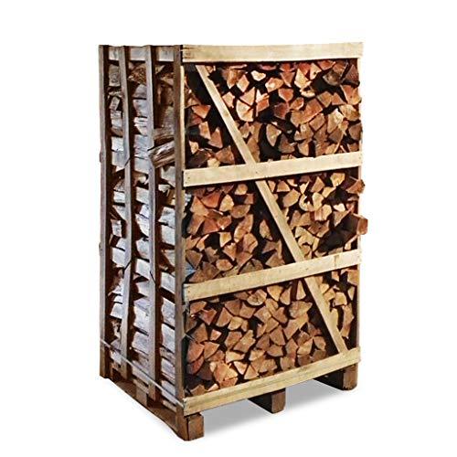 Premium Brennholz Buche kammergetrocknet 25 cm ofenfertig ca. 600kg auf Palette, 1.8 Raummeter, 15-24% Restfeuchte, Feuerholz, Kaminholz, Scheitholz