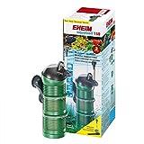 Eheim 32402020 Innenfilter aquaball 130 mit 2x Filterpatrone und Mediabox