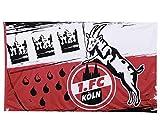 1. FC Köln Fahne/Hissfahne 120 x 180 cm ** Wappen ** 5040043