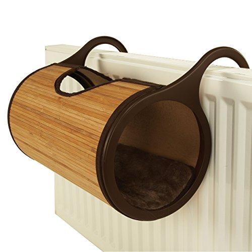 Rosewood 41302 Jolly Moggy Bambus-Heizkörperliege