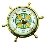 Neue Taschen-Magnetic Nautical Sundial 2.2 'Brass Schiffskompass Maritime