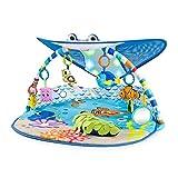 Disney Baby 11095 Mr. Ray Ocean Lights-Spieldecke, blau