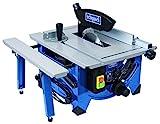Scheppach Tischkreissäge HS80, präzise Kreissäge mit HW-Sägeblatt 20Z, hohe Sägequalität, höhenverstellbar, Tischverbreiterung, Sägeblattschutz, 1200 W, 5901302901
