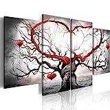 murando - Bilder 160x80 cm Vlies Leinwandbild 4 Teilig Kunstdruck modern Wandbilder XXL Wanddekoration Design Wand Bild - Liebe 5717