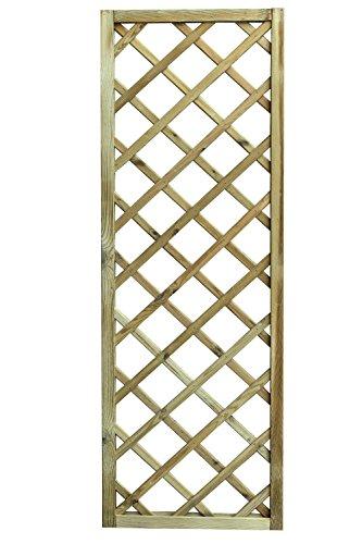 Avanti Trendstore - Ermes - Rankgitter aus imprägniertem Holz, in 3 verschiedenen Größen verfügbar (120x180)