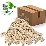 grillas Bio-Kaminanzünder 5,0kg aus Holzwolle, in Wachs getränkt | Kohleanzünder | Grillanzünder | Wachsanzünder | Anzündwolle | Anzündhilfe