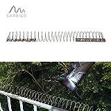 Gardigo Vogelfrei Spirale | Bis zu 5m Vogelschutz auf Balkon, Fenstersims, Dachkasten | Vogelabwehr | Taubenabwehr | Deutscher Hersteller