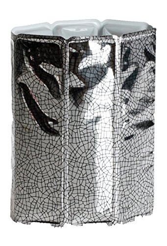 Vacu Vin - 38803606 - Aktiv Kühler Motiv Silber 0,75  - 1,0 Liter