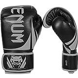 Venum Erwachsene Challenger 2.0 Boxhandschuhe, Schwarz / Grau, 10 oz