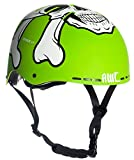 AWE MEET YOUR MAKER BMX Helm Grün 55-58cm FREIES 5 JAHR CRASH ERSATZ *
