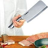 Alpina Hackbeil Küchenbeil Hackmesser Metzgerbeil Fleischerbeil aus Edelstahl 18cm