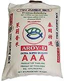 AROY-D Thai Jasmin-Reis [ 10 kg ] AAA Quality Thai Hom Mali Jasmine Rice