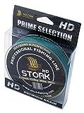 Stork HD, 4-Fach geflochtene Angelschnur 300m (Moosgrün, 15 lbs / 6.8kg / 0.15 mm)