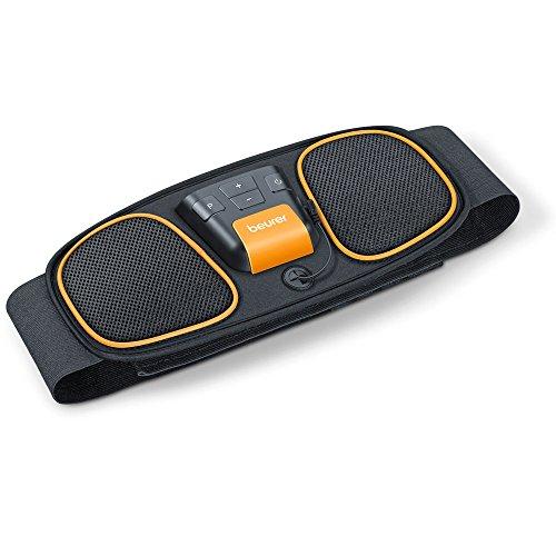 Beurer EM 32 Bauchmuskel-Gürtel, EMS Bauchtraining mit 2 verschleißfreien Carbon-Elektroden