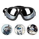 PEDOMUS Hundebrille Netive Haustier-Sonnenbrille Wasserdicht Winddicht Augenschutz für Groß/Mittel Hund
