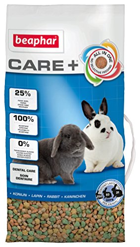 beaphar Care+ Kaninchen   Kaninchenfutter mit Alfalfa aus Bergwiesen   Fördert den gesunden Zahnabrieb   Niedriger Fettgehalt   5 kg Beutel