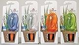 4er-Set Bewässerungskugel Blumenbewässerung Wasserspender *Bördy L* - H20cm/220ml