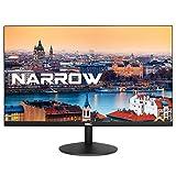 HKC 22A6 22 Zoll (54.60 cm) Full HD 1920x1080 Frameless LED Monitor, HDMI, VGA – Schwarz