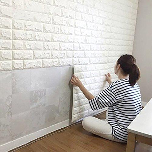 AFUT Ziegel Wand Aufkleber Kunst Porzellanziegel Dekoration Entfernbarkeit(1)
