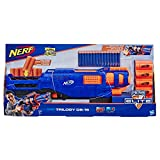 Trilogy E2853EU4 N-Strike Spielzeug Blaster, mit 15 Nerf Elite Darts und 5 Hülsen, für Kinder, Teenager, Erwachsene, Mehrfarbig