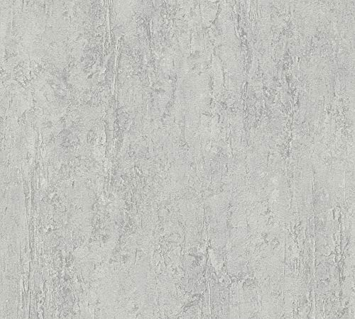 A.S. Création Vliestapete Beton Concrete & More Tapete in Vintage Beton Optik 10,05 m x 0,53 m grau Made in Germany 306694 30669-4